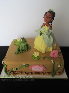 A Princesa Tiana foi ao aniversário da Teresa
