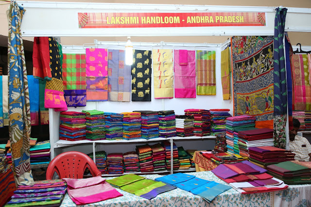 National Silk Expo begins at Sri Satya Sai Nigamagamam