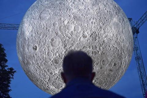 Ilyen közelről még nem láthattuk a Holdat - FOTÓK