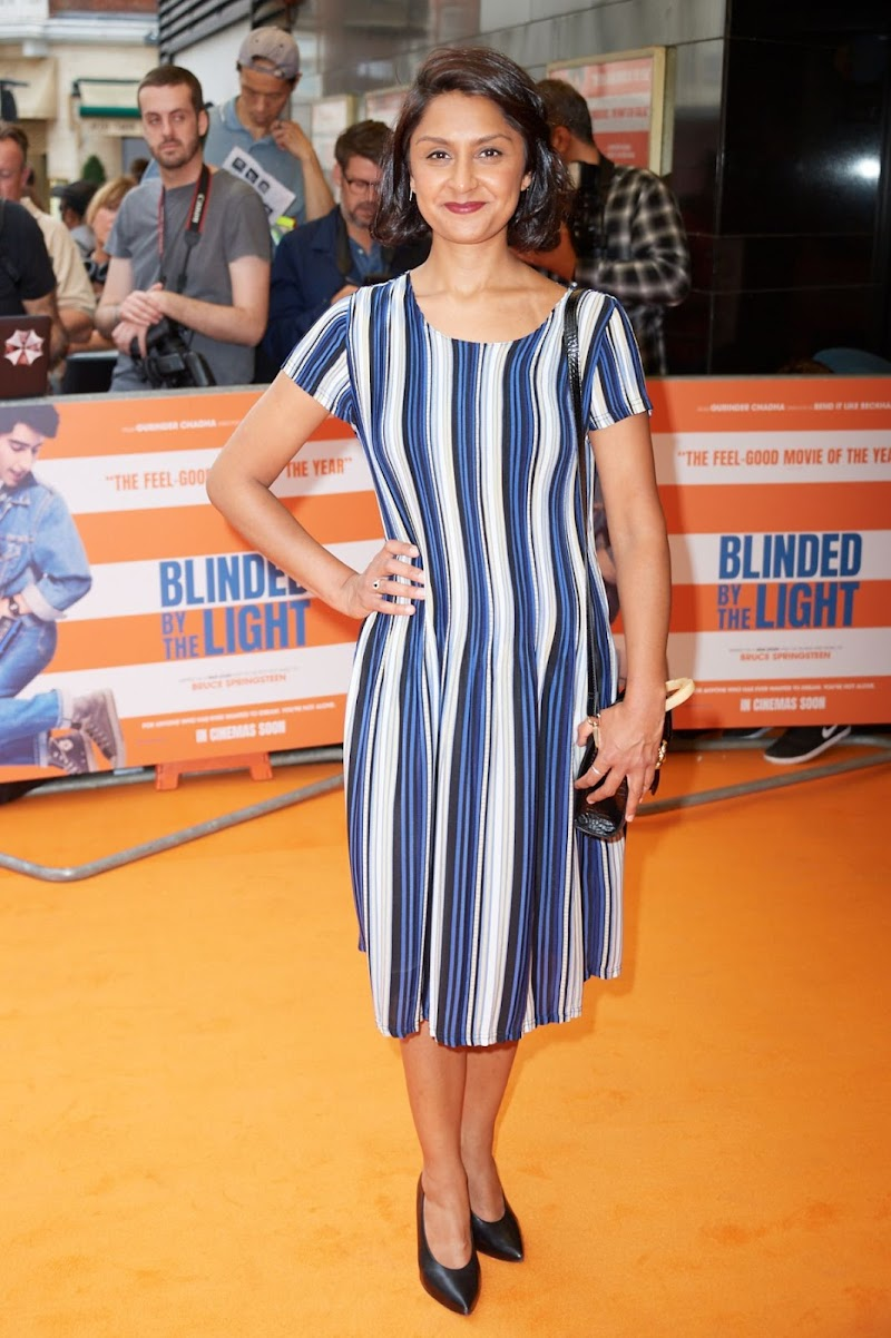 Krupa Pattani Clicks at Blinded by the Light Premiere in London 27 July-2019