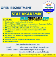 Open Recruitment at Home Schooling Sidoarjo Juni 2020