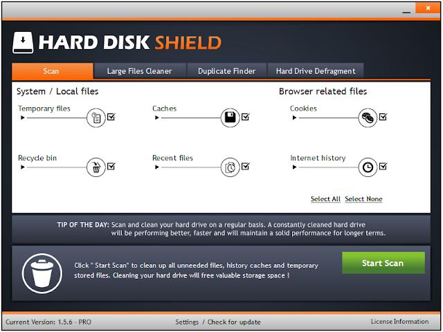 Screenshot Hard Disk Shield Pro 1.5.6 Full Version