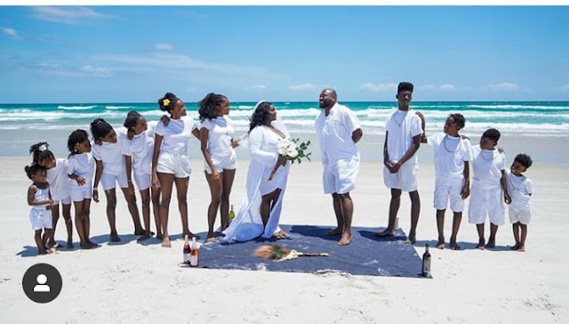 How plus size couple celebrate their 15th wedding anniversary