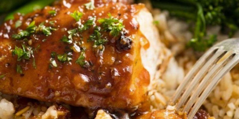Easy Baked Honey Garlic Chicken Tenders