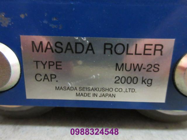 Rùa kéo máy Masada MUW-2S 2 tấn