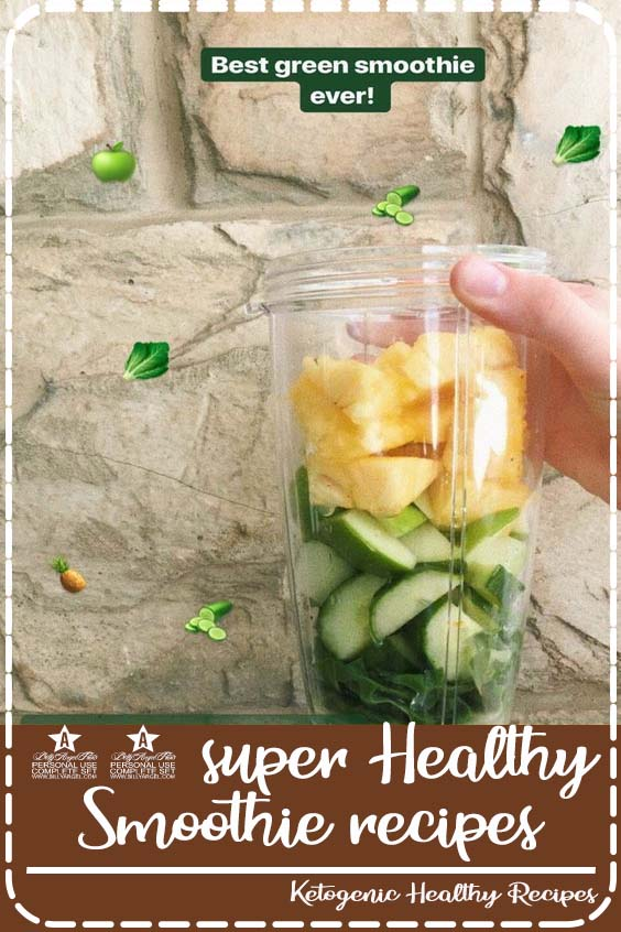 Need some quick and easy but healthy ideas for breakfast or post workout meals 50 super Healthy Smoothie recipes from Instagram