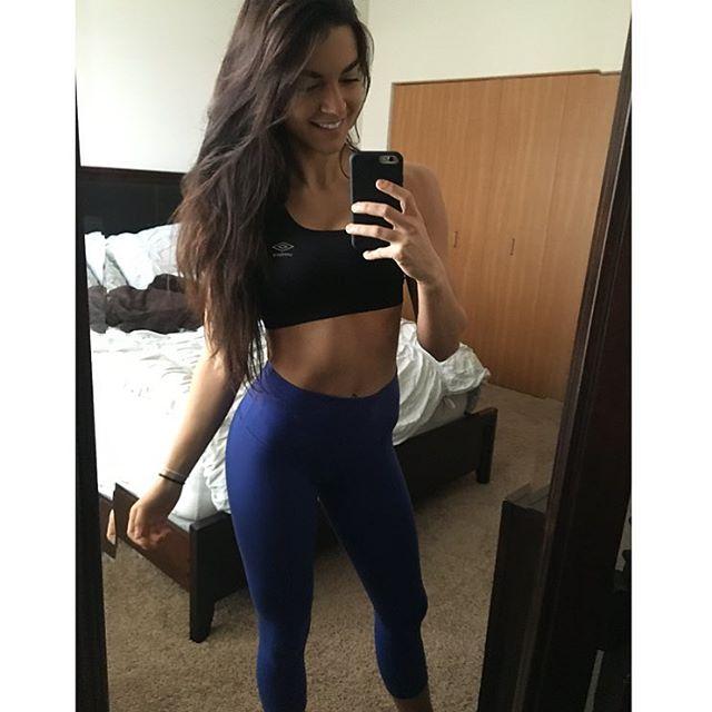 Fitness Model AUBREY NOLAN Instagram photos