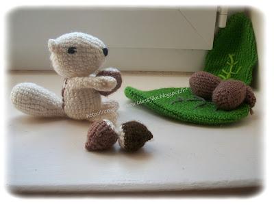 Ecureuil au crochet