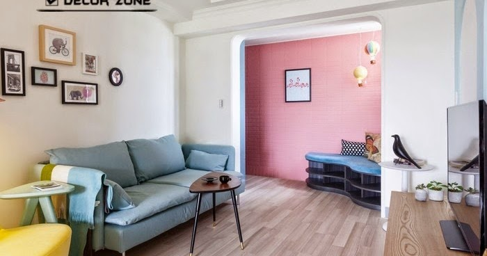 Colorful studio apartment design in Taiwanese city | Home Design ...