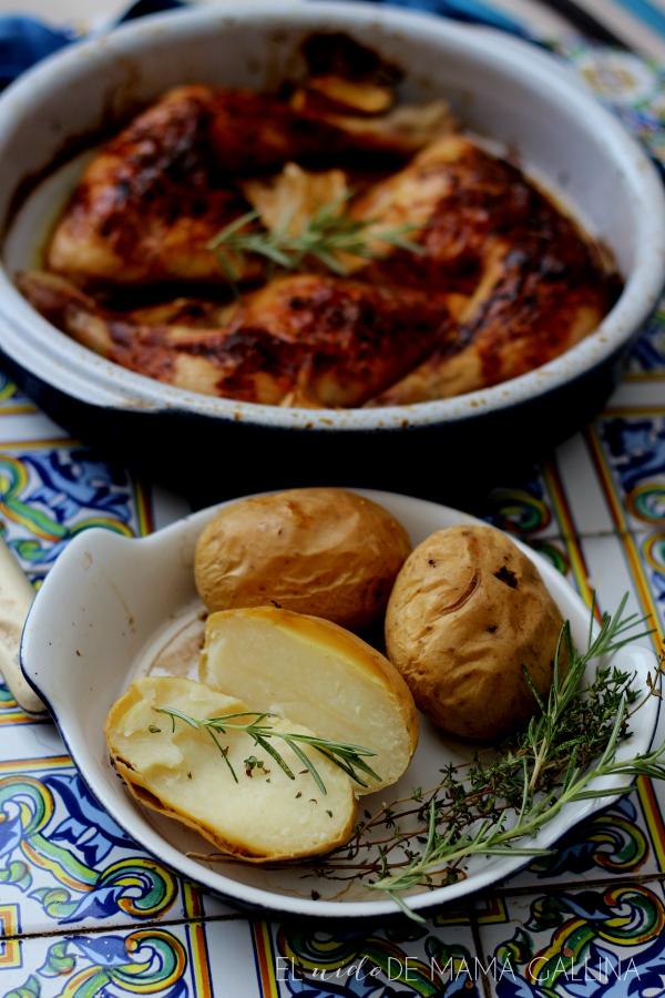 lemon and honey roast chicken