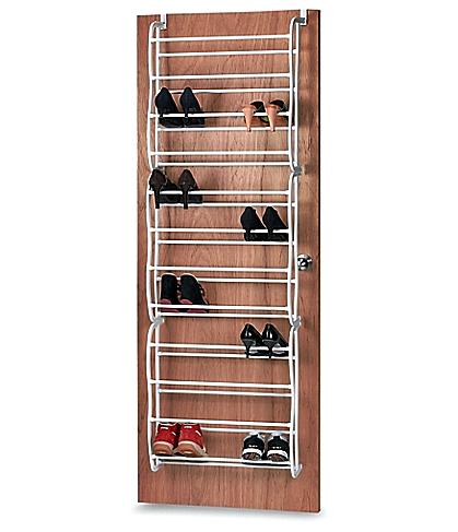 Model Rak Sepatu Gantung Di Belakang Pintu Dari Bahan Rangka Besi