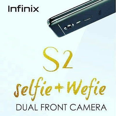 Infinix Ghana Launches World's First Wefie Smart Phone S2