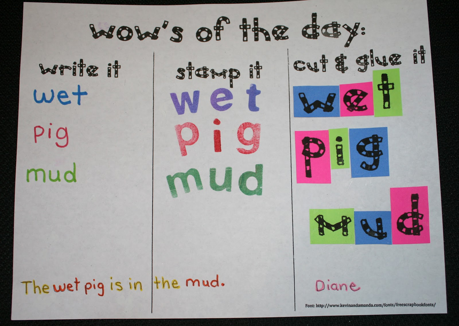 Cvc And Daily 5 Word Work Activities