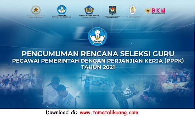 pengumuman mendikbud tentang seleksi guru pppk p3k tahun 2020 pdf tomatalikuang.com