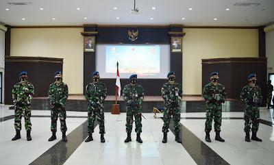 Marsma TNI Palito Sitorus Resmi Tutup Dan Buka Pendidikan Transisi