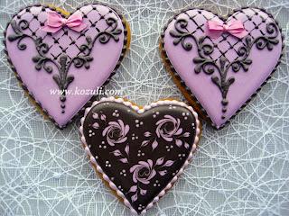 Имбирное печенье на День Святого Валентина, имбирное печенье на День влюбленных