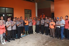 Penanganan Banjir, Polres Batang Berikan Dukungan Kepada BPBD