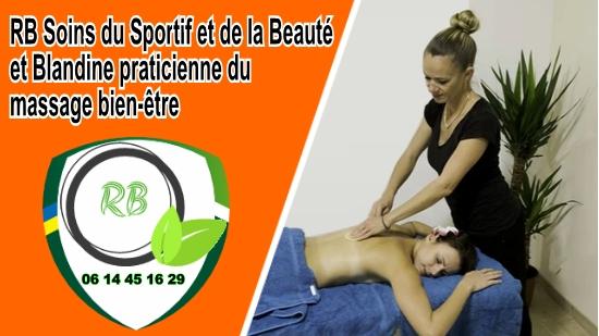 Blandine praticienne du massage bien-être;