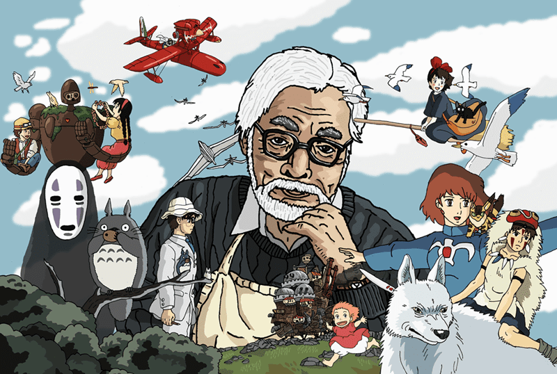 Film Terbaru Garapan Hayao Miyazaki Baru Selesai 36 Menit