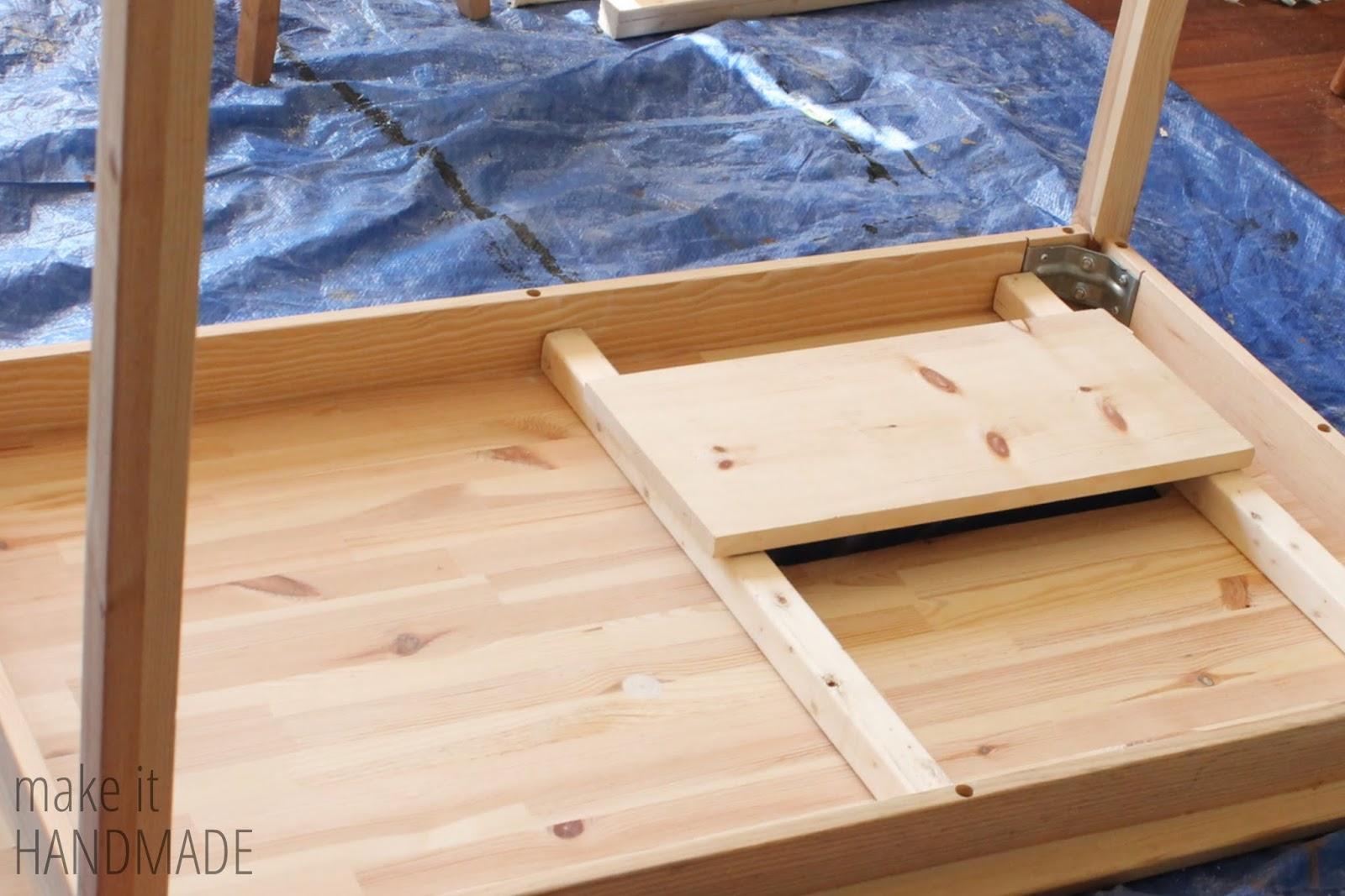 Make It Handmade Easy Diy Ikea Sewing Table Hack