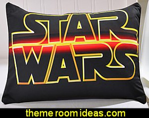 Star Wars Pillow Case  Star Wars Bedrooms - Star Wars Furniture - Star Wars wall murals - Star Wars wall decals - Star Wars bed - space ships theme beds - Star Wars Bedroom - Star Wars Decor - Sci Fi theme bedrooms - alien theme bedrooms - Stormtrooper Star Wars Theme Beds - Star Wars bedroom decor