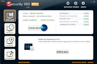 IOBIT SECURITY 360 1.61 PRO PORTABLE + SERIAL