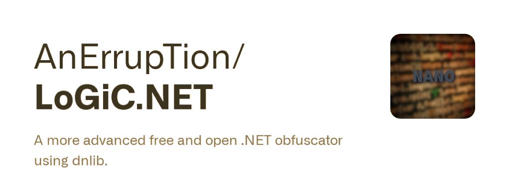 LoGiC.NET : A More Advanced Free And Open .NET Obfuscator Using Dnlib