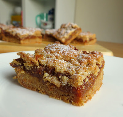Homemade Fig Bars, small batch