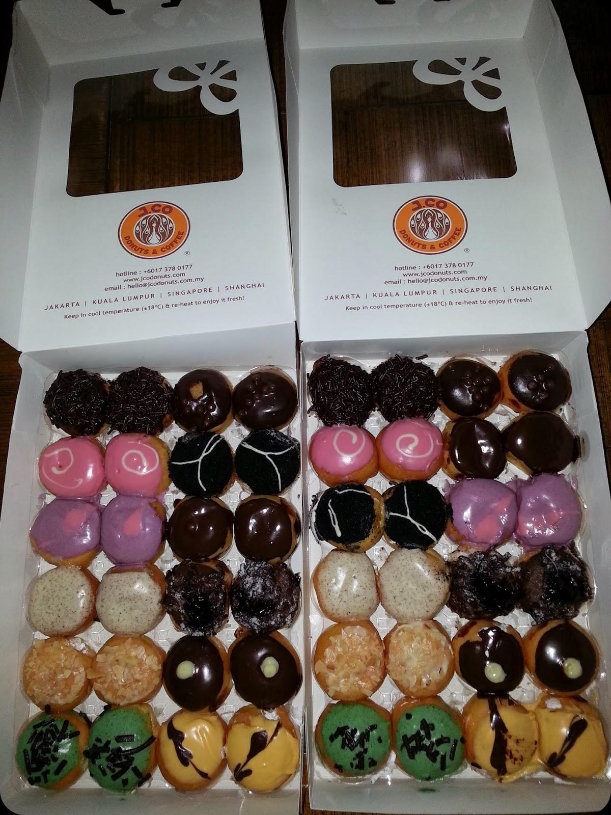 Jenis Donat Jco : jenis, donat, J.Pops, Donuts