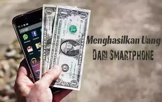Uang dari smartphone