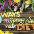 5 Ways to Spring Clean Your Diet #infographic