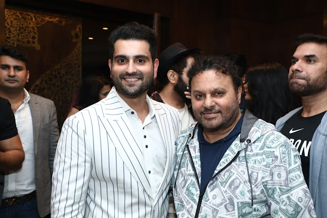 Rahil Tandon and Anil  Sharma