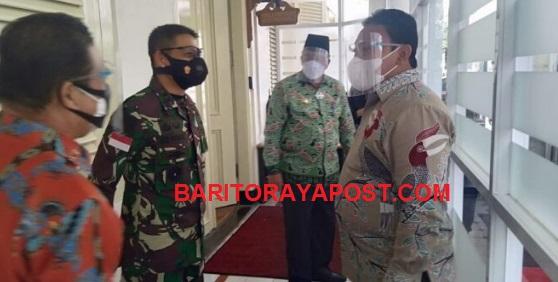 Bupati Edy Pratowo Menghadiri Rakernas di Istana Negara