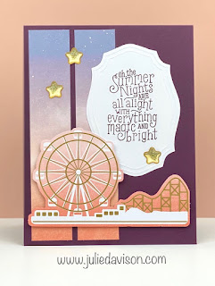 10 July 2020 Summer Nights Paper Pumpkin Alternative Projects ~ www.juliedavison.com #stampinup #paperpumpkin