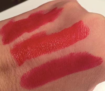 swatch Rouges à lèvres hydratants Lip Parfait Laura Mercier