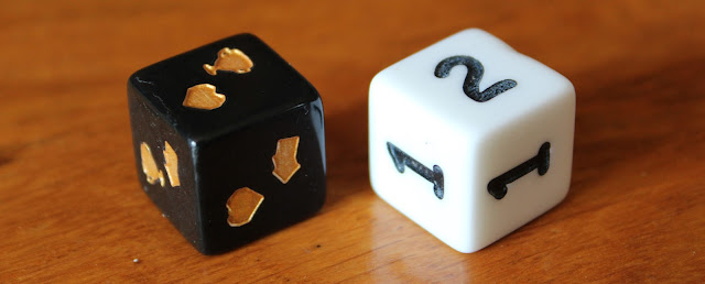Creature College - card dice