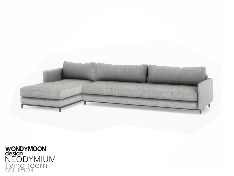 Sims 4 Cc S The Best Neodymium Living Room By Wondymoon