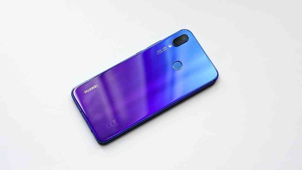 The Huawei Nova 3 Color Changing Body