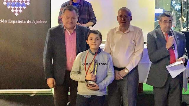 José Carlos Rico, campeón del XV Torneo Nuevas Generaciones 2019