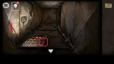 около решетки берем трубу в игре выход из заброшенной шахты