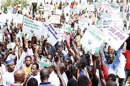 Pro-Buhari rally in South-East; MASSOB Issues Strong Warning
