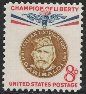 USA Stamp  Giuseppe Garibaldi, Italian Unification