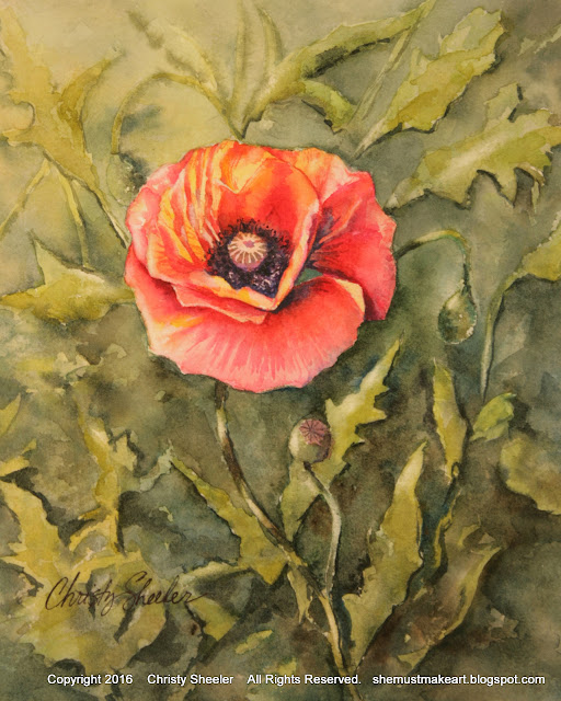 https://www.etsy.com/listing/269932443/poppies-single-original-watercolor