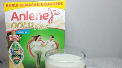 Susu Diet Anlene Gold Plus yang Tinggi Protein Baik untuk Kesehatan