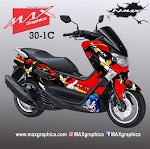 Sticker Decal NMAX Sonic