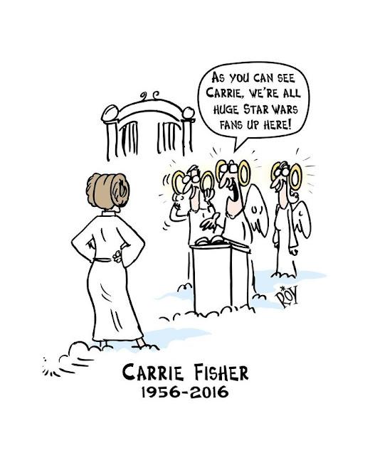 20 bức ảnh tưởng nhớ Carrie Fisher