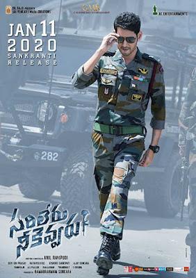 Sarileru Neekevvaru 2020 Telugu 720p WEB HDRip HEVC x265