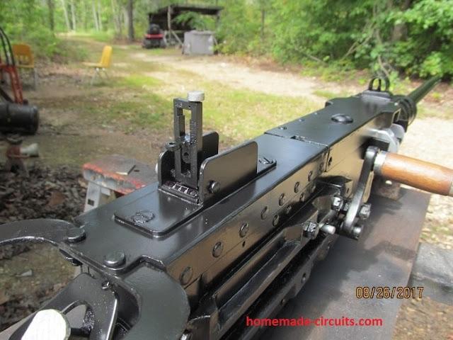 machine gun model prototype with sound geneartor