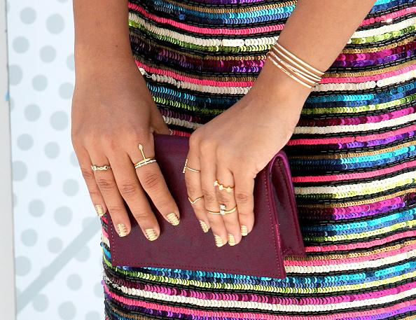 Yara Shahidi Showing Rings