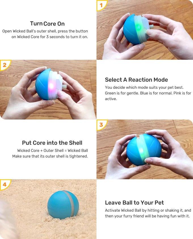 smart motion ball
